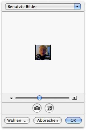 iSight Capute Apple Address Book