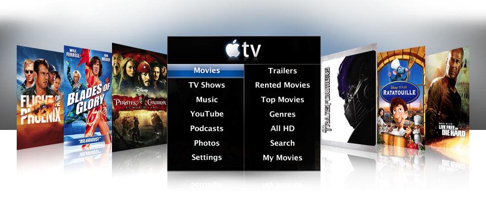 Apple TV Software Version 2 - Filmverleih