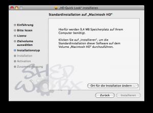 Avchd Quicktime Installation