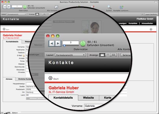 FileMaker 10 Neue Oberfläche