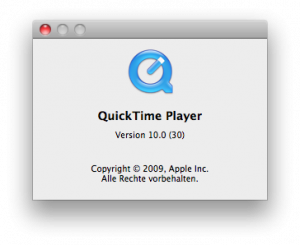 Quicktime in Snow Leopard